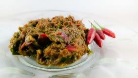 Κόλλα & x28 γαρίδων sambal belacan& x29  Στοκ φωτογραφία με δικαίωμα ελεύθερης χρήσης