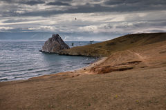 Κόλπος άμμου Στοκ Φωτογραφία