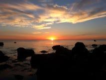 Κόλπος βακαλάων ακρωτηρίων από Gurnet Στοκ φωτογραφία με δικαίωμα ελεύθερης χρήσης