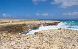Κόλπος γεφυρών διαβόλων ` s - καραϊβική θάλασσα - Αντίγκουα και Μπαρμπούντα Στοκ φωτογραφίες με δικαίωμα ελεύθερης χρήσης