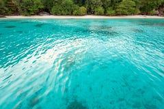 Κόλπος και παραλία μήνα του μέλιτος στο νησί Similan, Ταϊλάνδη Στοκ εικόνες με δικαίωμα ελεύθερης χρήσης
