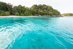 Κόλπος και παραλία μήνα του μέλιτος στο νησί Similan, Ταϊλάνδη Στοκ φωτογραφία με δικαίωμα ελεύθερης χρήσης