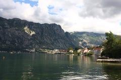 Κόλπος Μαυροβούνιο Kotorska Boka Στοκ φωτογραφία με δικαίωμα ελεύθερης χρήσης