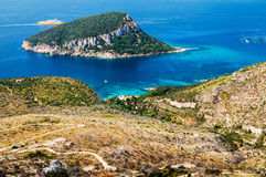Κόλπος της Σαρδηνίας Cala Moresca Στοκ εικόνες με δικαίωμα ελεύθερης χρήσης