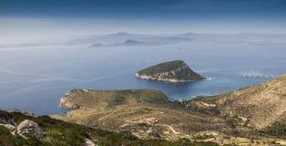 Κόλπος της Σαρδηνίας Cala Moresca Στοκ Φωτογραφίες