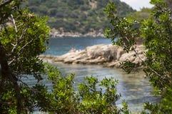 Κόλπος της Σαρδηνίας Cala Moresca Στοκ Εικόνες