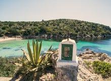 Κόλπος της Σαρδηνίας Cala Moresca Στοκ Φωτογραφία