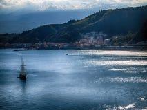 Κόλπος της Σικελίας Στοκ Φωτογραφία