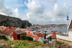 Κόλπος της Σουηδίας †«Fjällbacka Στοκ εικόνες με δικαίωμα ελεύθερης χρήσης