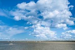 Κόλπος της Φινλανδίας, Άγιος Πετρούπολη στοκ φωτογραφίες