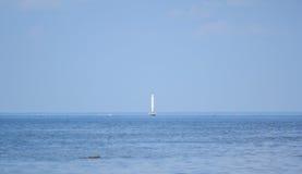 Κόλπος της Φινλανδίας - μινιμαλισμός στη θάλασσα και τον ουρανό Στοκ Εικόνες
