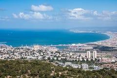 Κόλπος της Χάιφα, Ισραήλ στοκ εικόνα