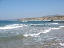 Κόλπος της Lara, Κύπρος - μια από τις καλύτερες παραλίες Στοκ Φωτογραφία