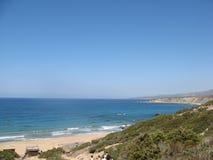 Κόλπος της Lara, Κύπρος - μια από τις καλύτερες παραλίες Στοκ Εικόνες