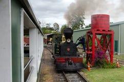 Κόλπος του εκλεκτής ποιότητας σιδηροδρόμου Kawakawa NZ νησιών Στοκ εικόνα με δικαίωμα ελεύθερης χρήσης