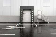 Κόλπος φόρτωσης Στοκ Φωτογραφίες