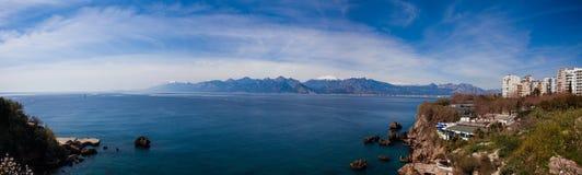 Κόλπος Antalya, Τουρκία Στοκ φωτογραφία με δικαίωμα ελεύθερης χρήσης