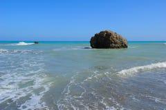 Κόλπος Aphrodite στη Κύπρο Στοκ φωτογραφίες με δικαίωμα ελεύθερης χρήσης