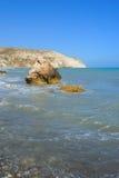 Κόλπος Aphrodite στη Κύπρο Στοκ εικόνες με δικαίωμα ελεύθερης χρήσης