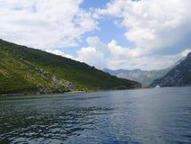 Κόλπος boko-Kotorsky στο Μαυροβούνιο Στοκ εικόνα με δικαίωμα ελεύθερης χρήσης