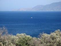 Κόλπος Chrysochous Polis, Κύπρος Στοκ φωτογραφία με δικαίωμα ελεύθερης χρήσης
