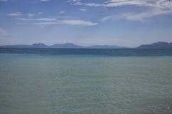 Κόλπος Corinth, Ελλάδα Στοκ Εικόνες