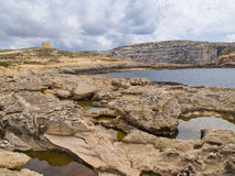 Κόλπος Dwejra Στοκ εικόνες με δικαίωμα ελεύθερης χρήσης