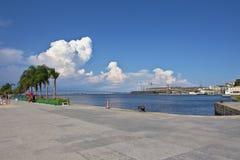 Κόλπος Guanabara που βλέπει από Praca Maua Στοκ εικόνες με δικαίωμα ελεύθερης χρήσης