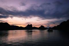 Κόλπος Halong στοκ φωτογραφία με δικαίωμα ελεύθερης χρήσης