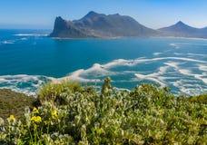 Κόλπος Hout από τη μέγιστη κίνηση του γυρολόγου, Νότια Αφρική Στοκ εικόνες με δικαίωμα ελεύθερης χρήσης