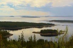 Κόλπος Kandalaksha Ο Βορράς Στοκ φωτογραφία με δικαίωμα ελεύθερης χρήσης