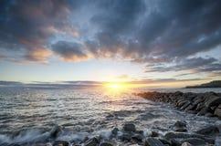 Κόλπος Kimmeridge Στοκ Φωτογραφία