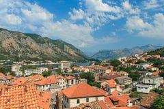 Κόλπος Kotor, Kotor Μαυροβούνιο Στοκ φωτογραφία με δικαίωμα ελεύθερης χρήσης