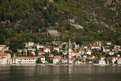 Κόλπος Kotorska Boka στο Μαυροβούνιο, Ευρώπη Στοκ φωτογραφίες με δικαίωμα ελεύθερης χρήσης