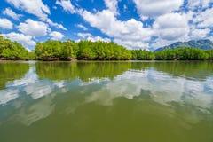 Κόλπος Krabi Nga Phang Στοκ Φωτογραφία