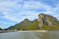 Κόλπος Manow, Ταϊλάνδη Στοκ εικόνα με δικαίωμα ελεύθερης χρήσης