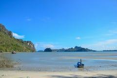 Κόλπος Manow, Ταϊλάνδη Στοκ Φωτογραφίες