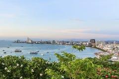 Κόλπος Pattaya Στοκ Εικόνες