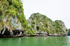 Κόλπος Phang Nga σπηλιών Lod Tham Στοκ εικόνες με δικαίωμα ελεύθερης χρήσης