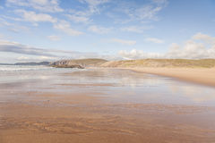 Κόλπος Sandwood στη Σκωτία στοκ εικόνες