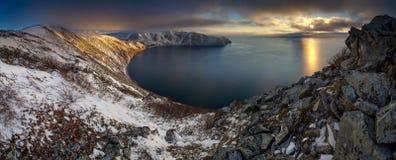 Κόλπος Svetlaya Στοκ Φωτογραφίες