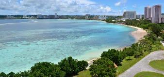 Κόλπος Tumon, Γκουάμ στοκ εικόνα