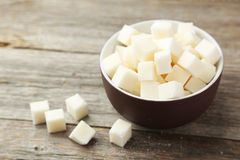 Κύβοι ζάχαρης Στοκ Φωτογραφία