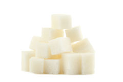 Κύβοι ζάχαρης Στοκ φωτογραφία με δικαίωμα ελεύθερης χρήσης