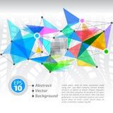 Κύβοι και τρίγωνα Στοκ εικόνες με δικαίωμα ελεύθερης χρήσης