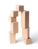 κύβοι ξύλινοι στοκ φωτογραφίες