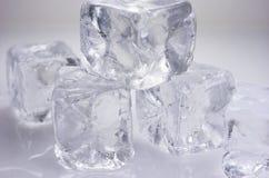 Κύβοι πάγου Στοκ φωτογραφίες με δικαίωμα ελεύθερης χρήσης