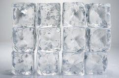 Κύβοι πάγου Στοκ Εικόνες