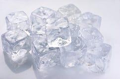 Κύβοι πάγου Στοκ φωτογραφία με δικαίωμα ελεύθερης χρήσης