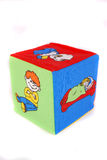 Κύβοι παιχνιδιών για τα παιδιά Στοκ φωτογραφία με δικαίωμα ελεύθερης χρήσης
